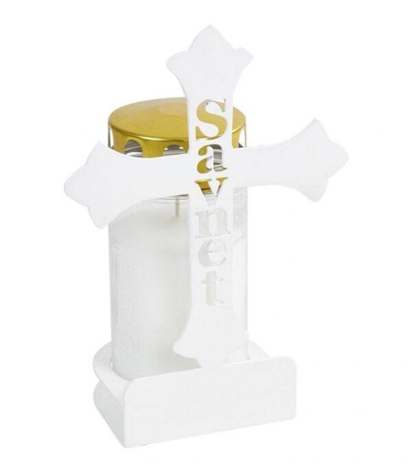 Gravlys Kors savnet hvid