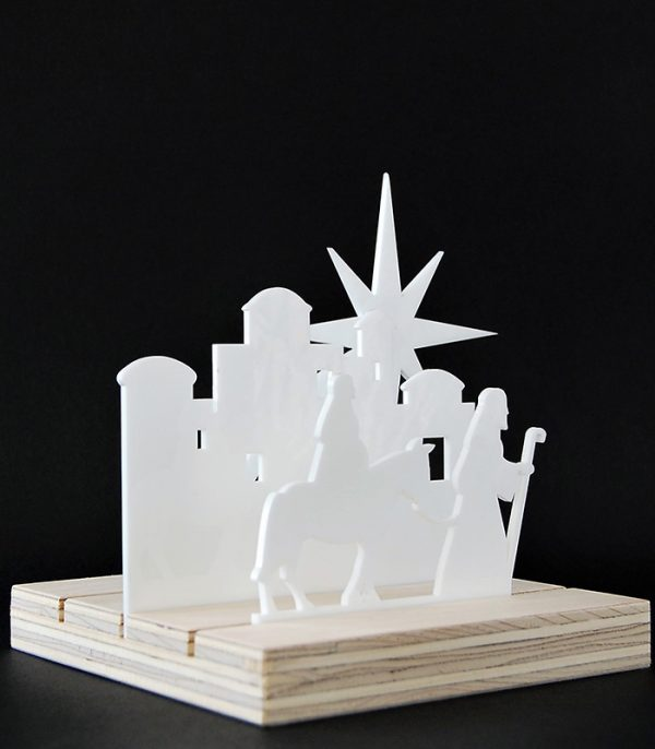 Ryborg Urban Designs På vej til Bethlehem jule blok