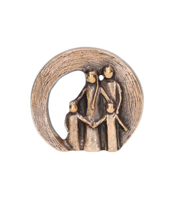 Bronze figur Familie 116093