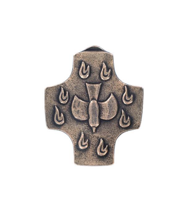 Bronze Helligåndskors 143722
