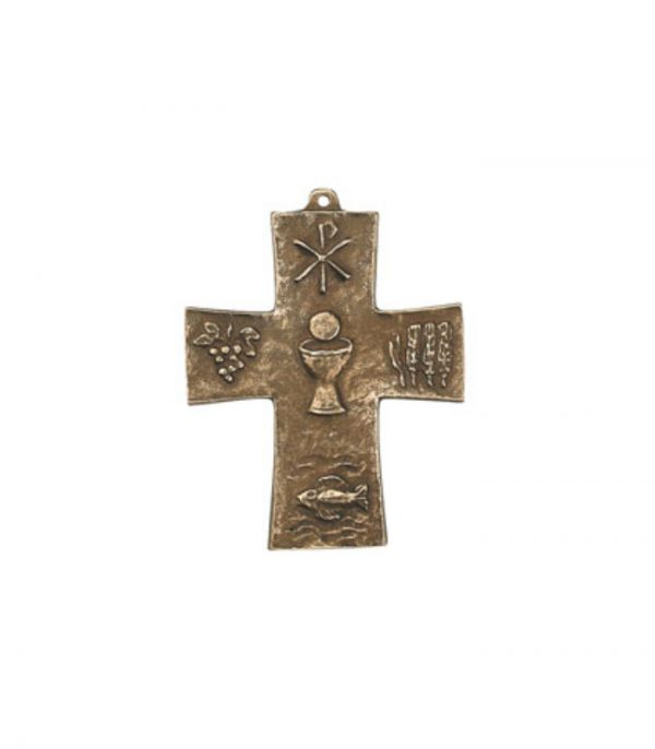 Bronze kors nadver 142044