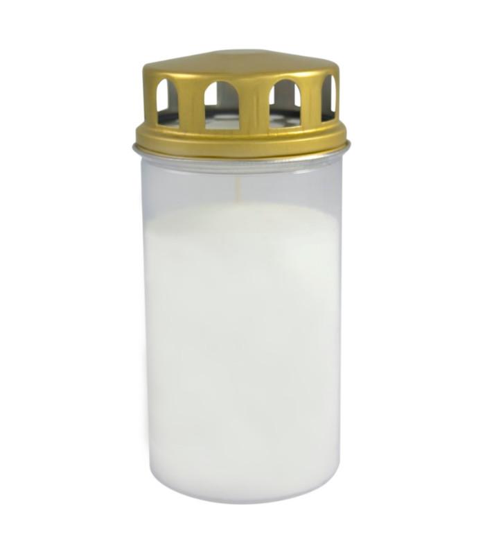 OnlyByGrace Gravlys hvid 15 cm