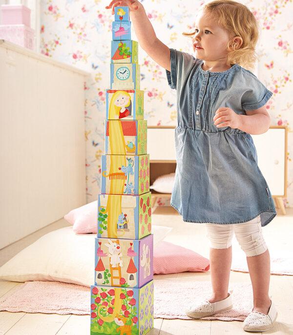 HABA Stabeltårn med Rapunzel