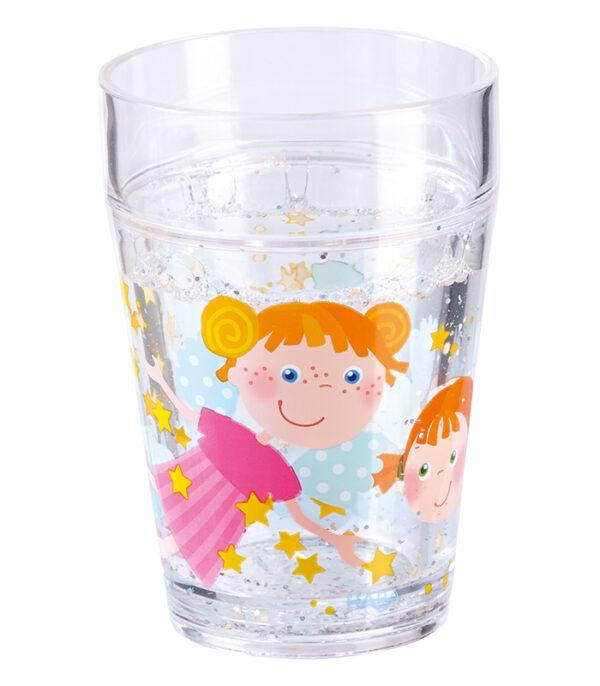 HABA Glas i plast med Engle og stjernestøv
