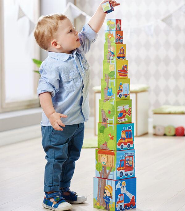 HABA Stabeltårn med udrykning