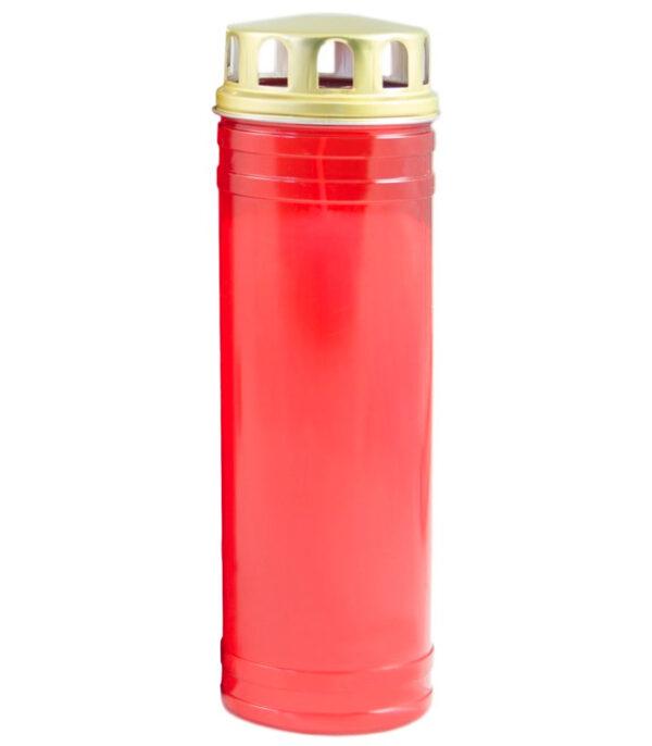 OnlyByGrace Gravlys med vindbeskyttelse rød, 5 døgn