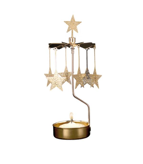 OnlyByGrace lysspil stjerne guld