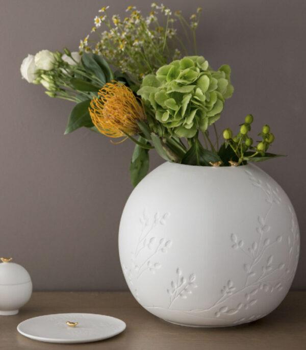 OnlyByGrace smuk vase med to-fugle 12563
