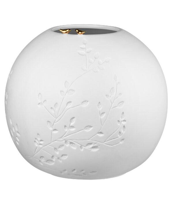OnlyByGrace smuk vase med to fugle 12563
