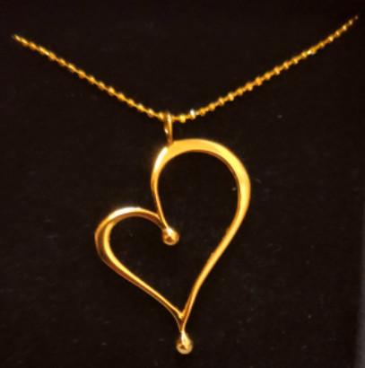 OnlyByGrace by gabay gold heart