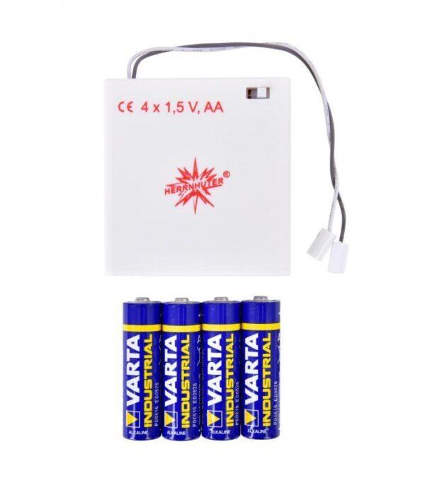 Herrnhuter adaptor med batteri