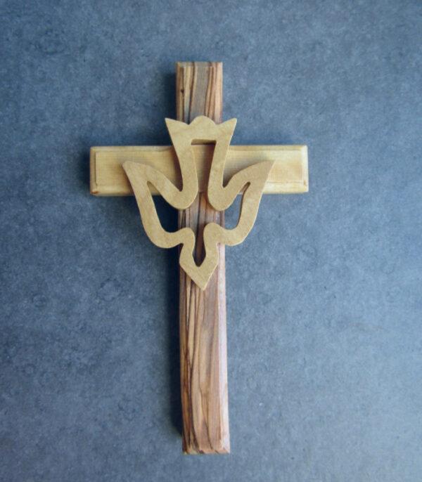 OnlyByGrace Kors med helligåndsdue