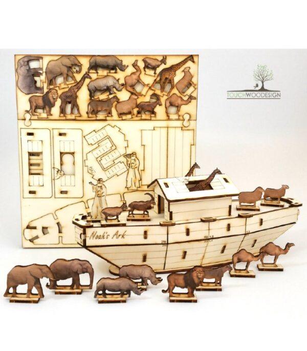 OnlyByGrace Noahs Ark 3D puslespil