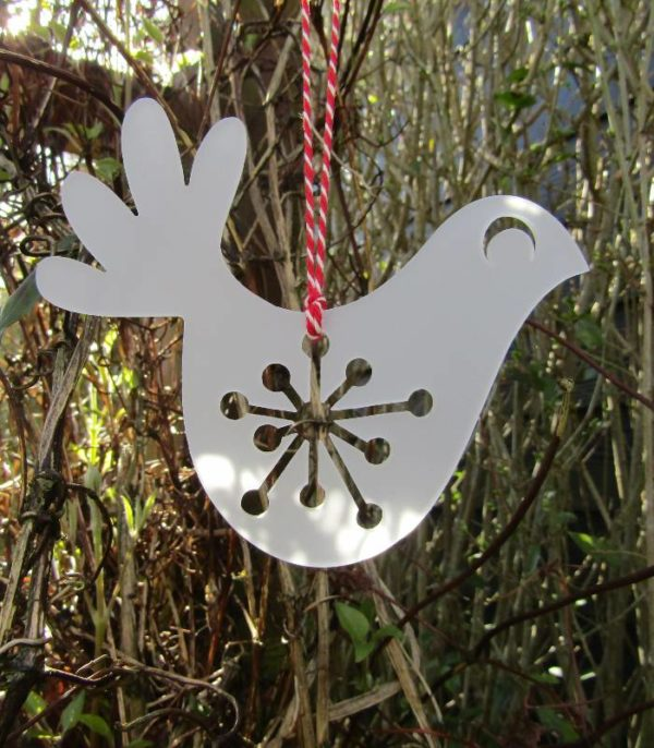 OnlyByGrace Peace and love dove outdoor