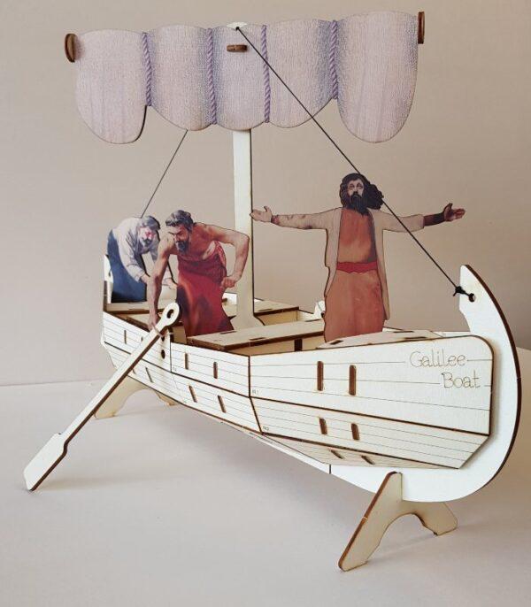OnlyByGrace Fiskebåd 3D puslespil