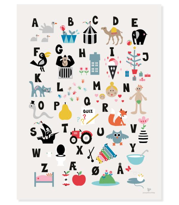 OnlyByGrace ABC Poster Josephine Blay