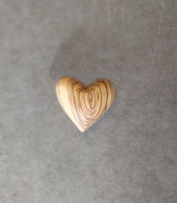 OnlyByGrace Heart Olivewood