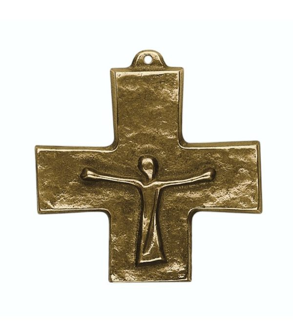 OnlyByGrace Bronze Opstandelses kors
