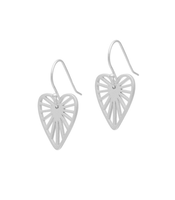 OnlyByGrace heart hanging-sølv ByGabay