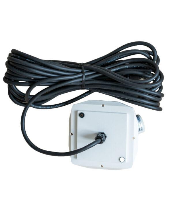 OnlyByGrace 10 meter sort ledning udendørs