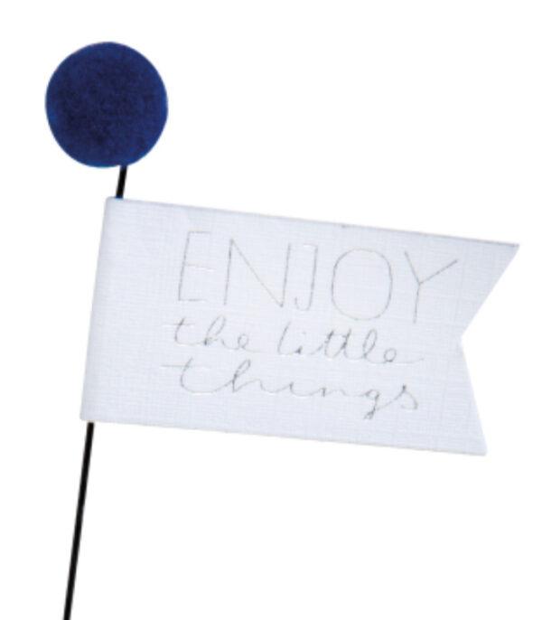 OnlyByGrace enjoy the little things flag