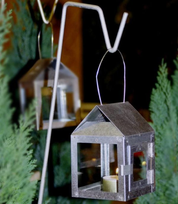 OnlyByGrace A2Living 40080 Hanging Lantern with wire Galvaniseret(1)