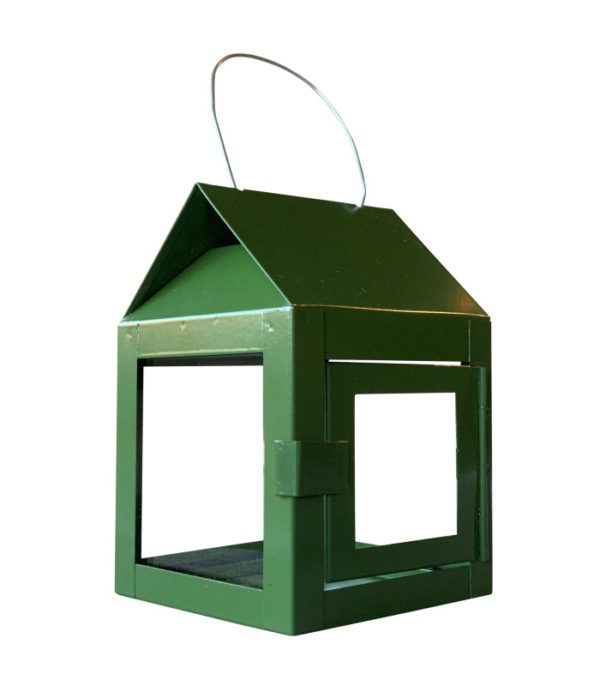 OnlyByGrace A2Living 40084 Hanging Lantern with wire olivegreen Galvaniseret