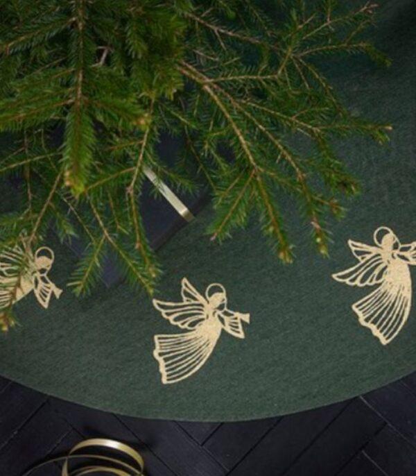 OnlyByGrace Juletræstæppe med engle