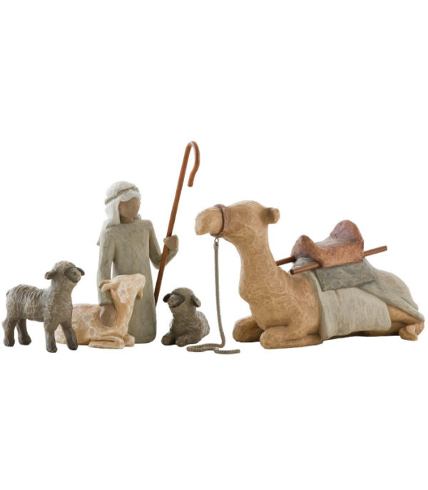 OnlyByGrace-Willow-Tree Shepherd & Stable animals
