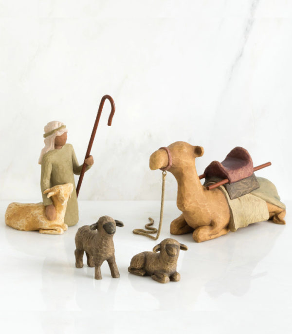 OnlyByGrace Willow Tree Shepherd & Stable animals