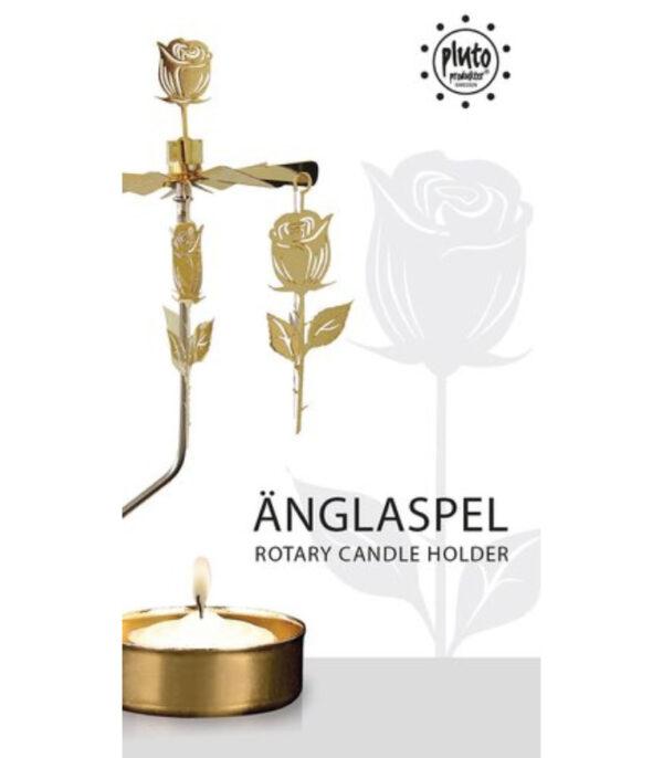 OnlyByGrace Lysspil guld roser