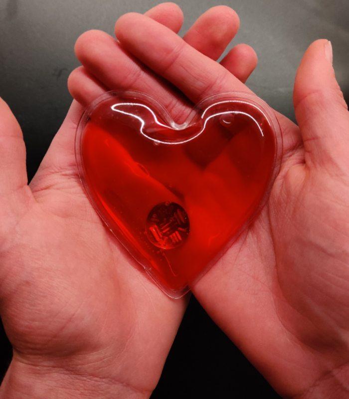 OnlyByGrace hjertevarmer varmehjerte
