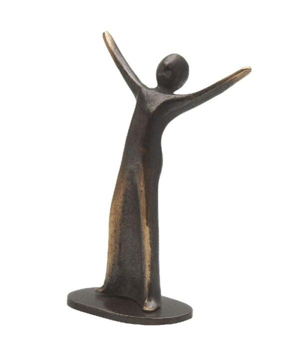 OnlyByGrace Bronzeskulptur Bronzefigur Fryd
