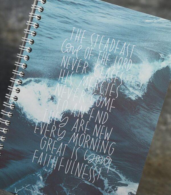 OnlyByGrace Notesbog The steadfast love