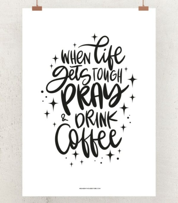 OnlyByGrace Plakat When life gets tough