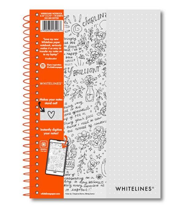OnlyByGrace Whitelines ntoesbog dot grid