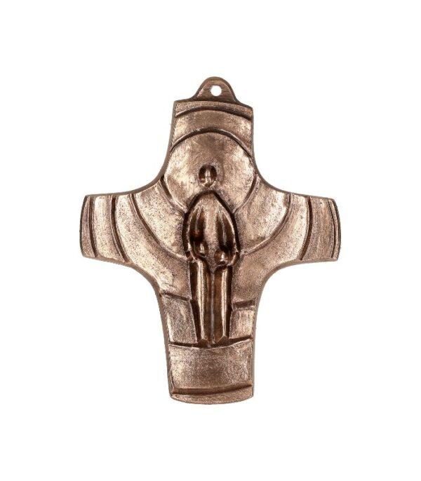 OnlyByGrace-bronze kors jeg er med jer