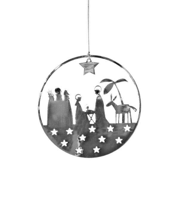 OnlyByGrace Julenat Krybbespils ophæng Fritlagt
