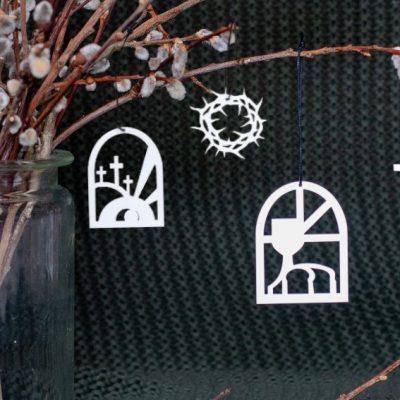 PåskeOnlyByGrace påske ophæng Easter ornaments